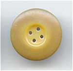 Four Hole Sew Thru Beige Celluloid Button
