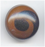 Black & Brown Swirl Celluloid Button