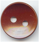 Big Round Brown Celluloid Button