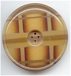Big Plaid Design Celluloid Button