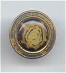 Metal & Celluloid Vintage Button