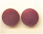 Maroon Sharkskin Look Plastic Buttons