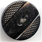 Molded Black Cellluloid Button