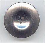 Large Silvery Celluloid Button