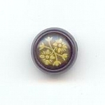 Plastic And Celluloid Flower Button