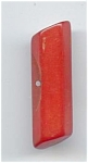 Red Bakelite Bar Button