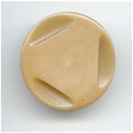 Art Deco Type Beige Bakelite Button