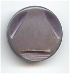 Art Deco Grey Bakelite Button