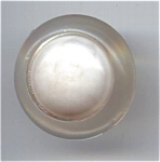 Clear Bakelite Art Deco Type Button