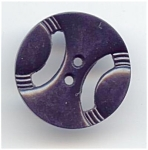 Bakelite Unhappy Face Button