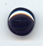 Domed Hematite Button