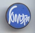 Copper Enameled Sonora Button