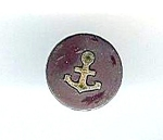 Older Vulcanite With Inlaid Anchor Button