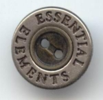 Essential Elements Silver Button