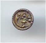 Small Metal Cornucopia Button