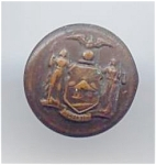 Ny State Seal Button (I Think)