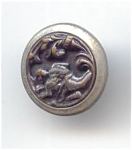 Small Cupid In Repose Button