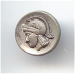 Tiny Vintage Soldier's Head Button