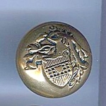 Older Stamped Brass Crest Button