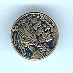 Indian Head Nickel Coin Like Button