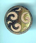 Vintage Cut Out Celluloid Design Button