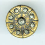 Victorian Cut Steel Button