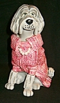 All Dressed Up Farlley Sheepdog Sculpture L. Corneille