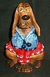 All Dressed Up Nova Hound Dog Sculpture L. Corneille