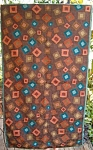 Wild Idian Chainstitch Rug Handmade Wool