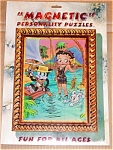 Betty Boop Magnetic Gone Fishing W Friends Puzzle New