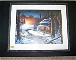 The Glow Of Christmas, Framed Print