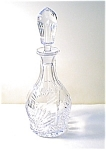 Crystal Decanter, Ray & Fan Ptn.
