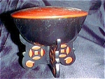 Lacquerware Footed Box