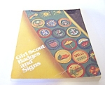 Girl Scout Handbook, Badges And Signs