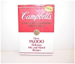 Campbells Creative Cooking Cookbook