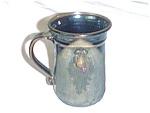 Brown Pottery Face Mug