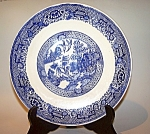 Blue Willo Ptn. Plate