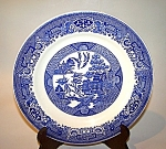 Blue Willow Plate, Royal Cina