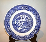 Plate, Blue Willow Ptn.
