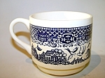 Blue Willow Pattern Cup, Usa