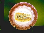 Sunderland, Grays Pottery Lusterware Plate