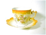 Bavaria Lustre Ware Large Cup And Saucer