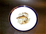 Schumann Porcelain Fish Pattern Plate, Germany
