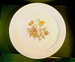 Homer Laughlin Eggshell,theme Ptn. Platter