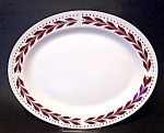 Platter, Hemlock Pattern Homer Laughlin