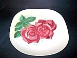Lexington Rose Ptn. Dinner Plate, Red Wing