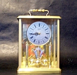 Carriage Clock, Quartz Batteryglass Case