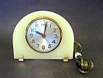 Sessions Clock, Alabaster Case