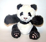 Black & White Panda Bear Toy
