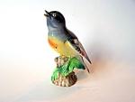 Robin Figurine, Porcelain., Trimont